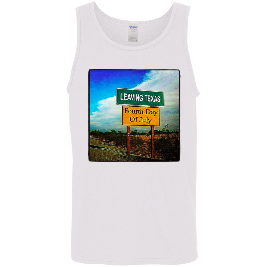 Leaving Texas Cotton Tank Top