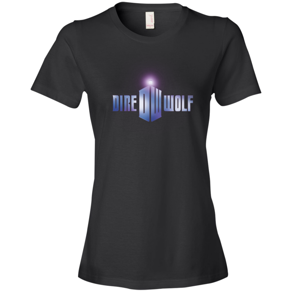 Dire Wolf Doctor Who Ladies Premium T-Shirt