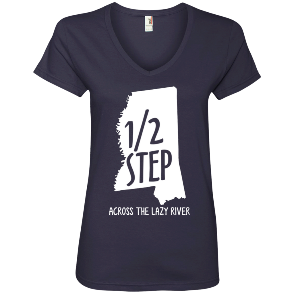 Half Step Mississippi Ladies' V-Neck T-Shirt