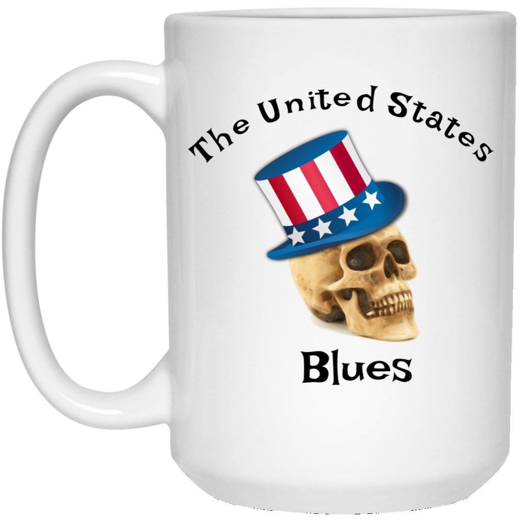 The United States Blues 15 oz. White Mug