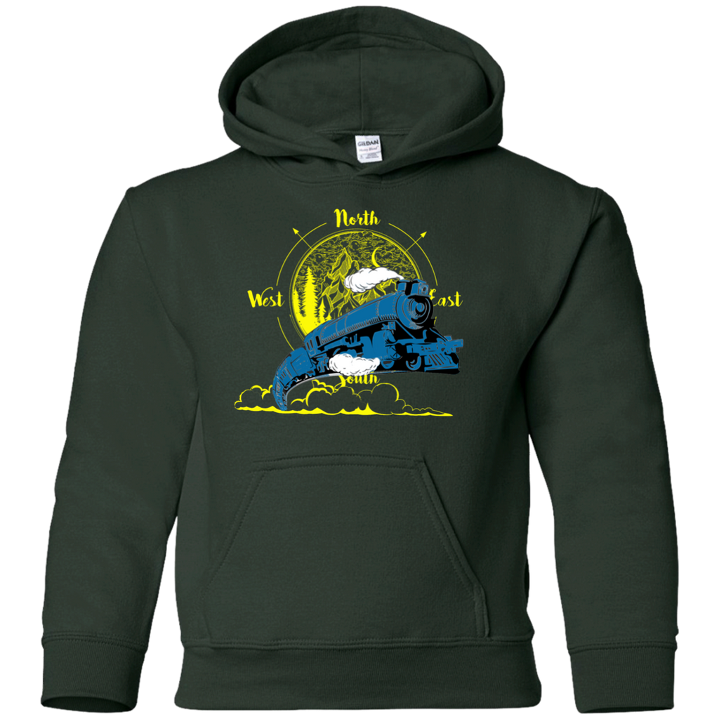 Northbound Train Youth Pullover Hoodie