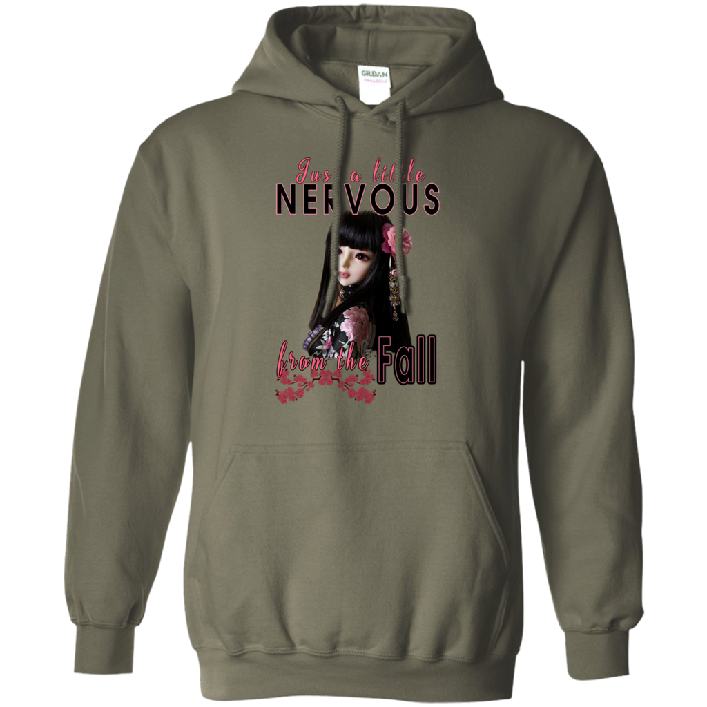 Just A Little Nervous Pullover Hoodie