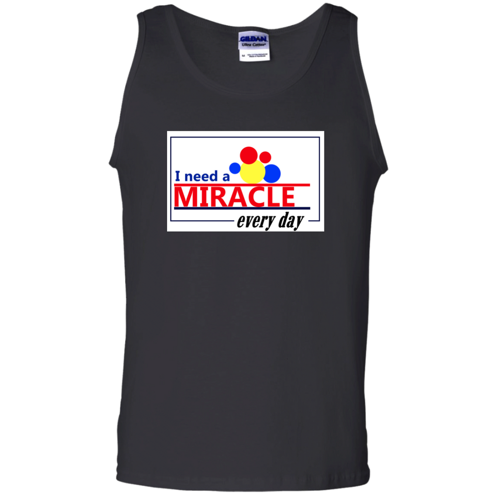 Miracle Every Day 100% Cotton Tank Top