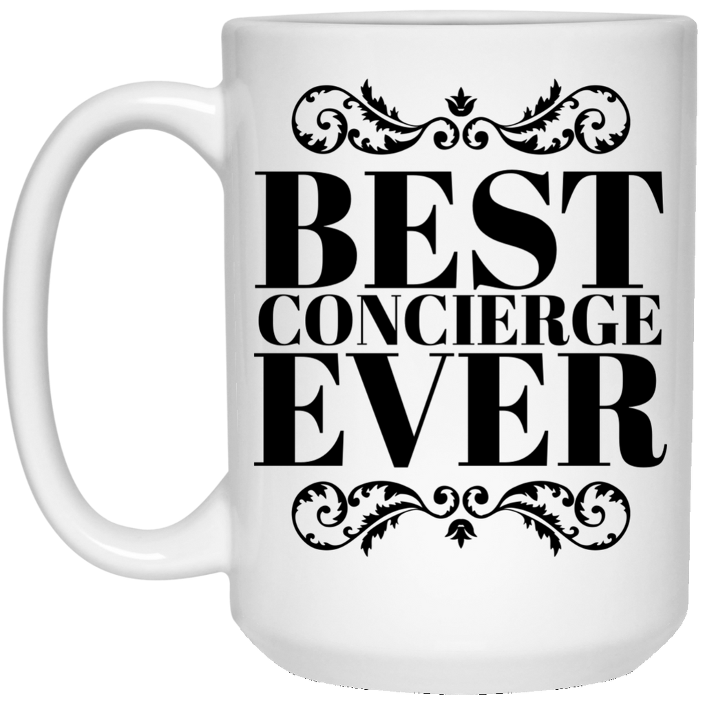 Best Concierge Ever 15 oz. Mug
