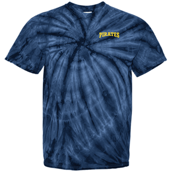 Men's Pirates Cotton Tie Dye T-Shirt