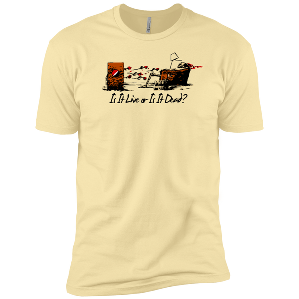 Is It Live Couch Tour Premium Cotton T-Shirt