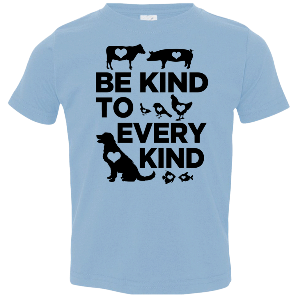 Be Kind To Every Kind Toddler Jersey T-Shirt