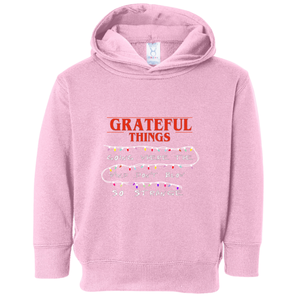Grateful Things Toddler Fleece Hoodie