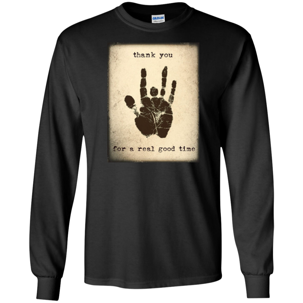 Thank You Good Time Long Sleeve Ultra Cotton T-Shirt