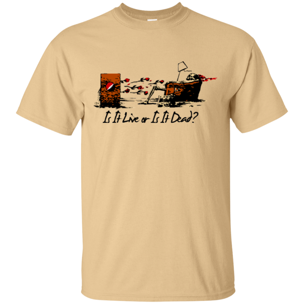 Is It Live Couch Tour Cotton T-Shirt