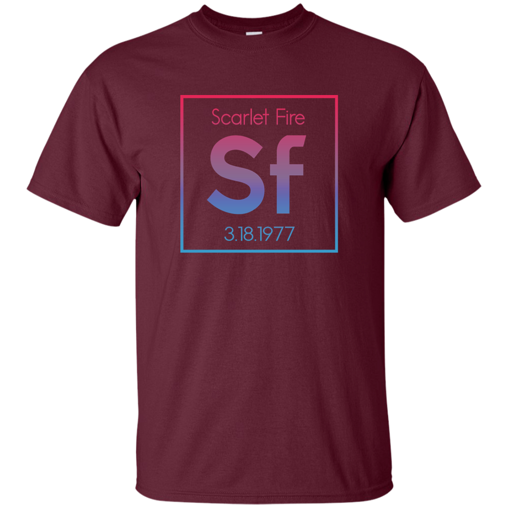 Scarlet Fire Chemistry Ultra Cotton T-Shirt
