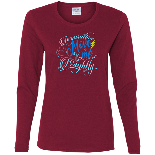 Inspiration Brightly Ladies' Cotton Long Sleeve T-Shirt