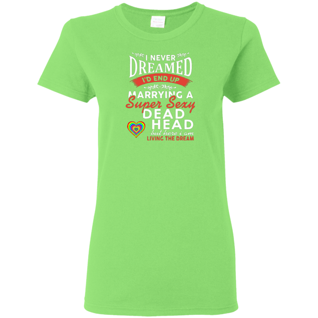 Marry Sexy Deadhead Ladies T-Shirt