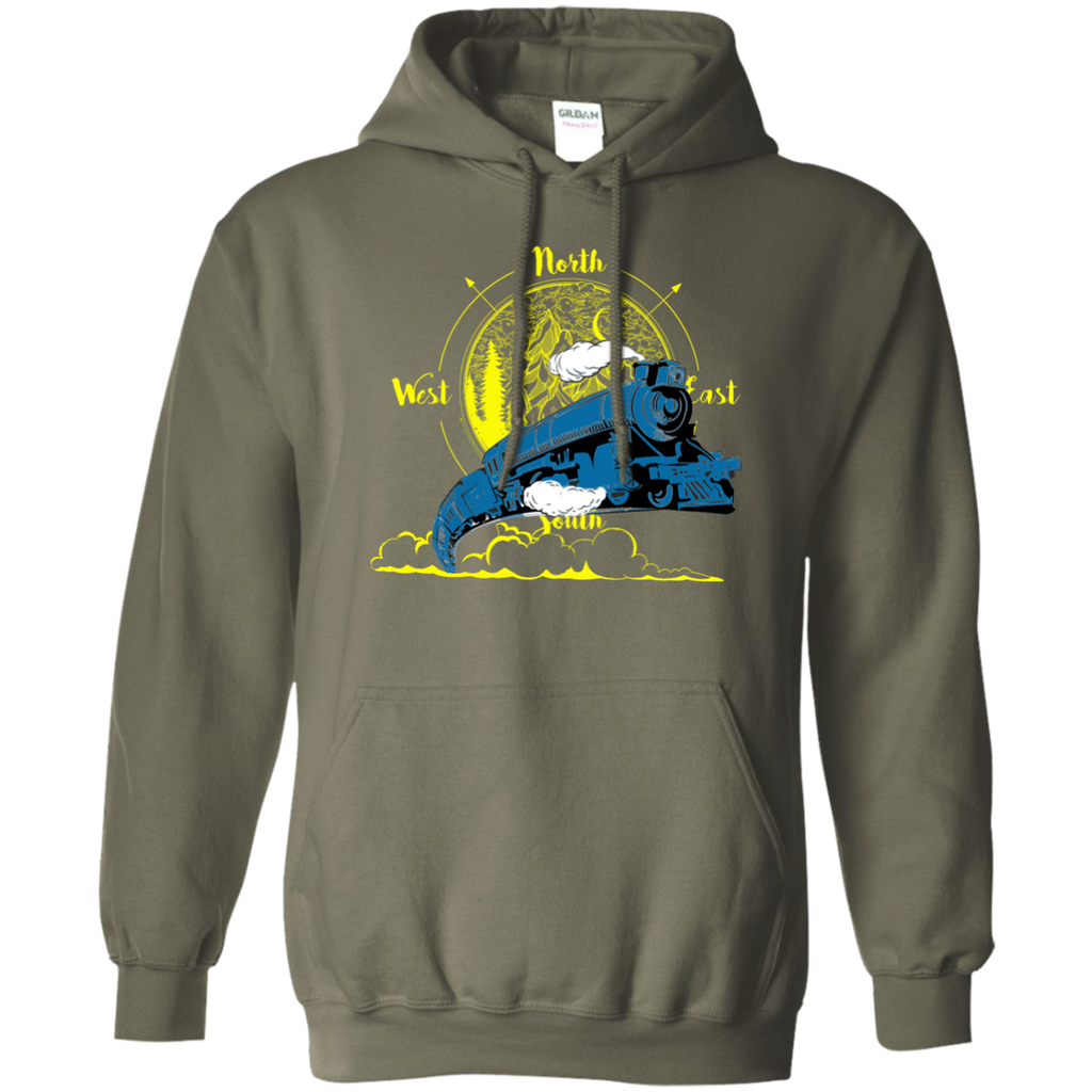 Northbound Train Pullover Hoodie