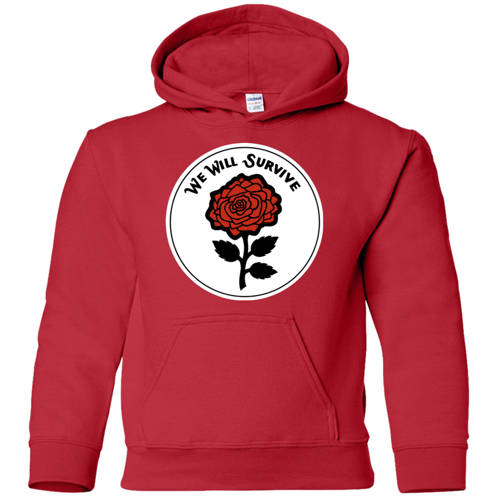 We Will Survive Youth Pullover Hoodie