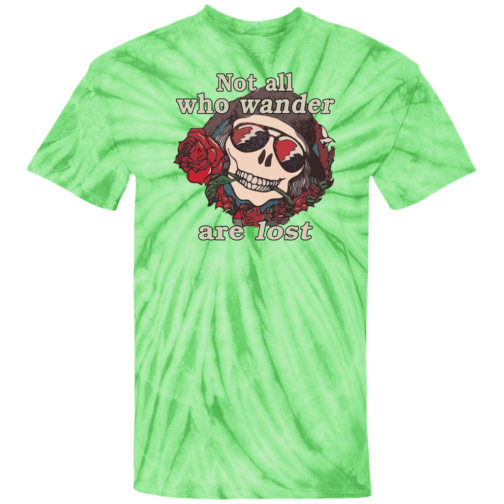 Not All Wander Tie Dye T-Shirt