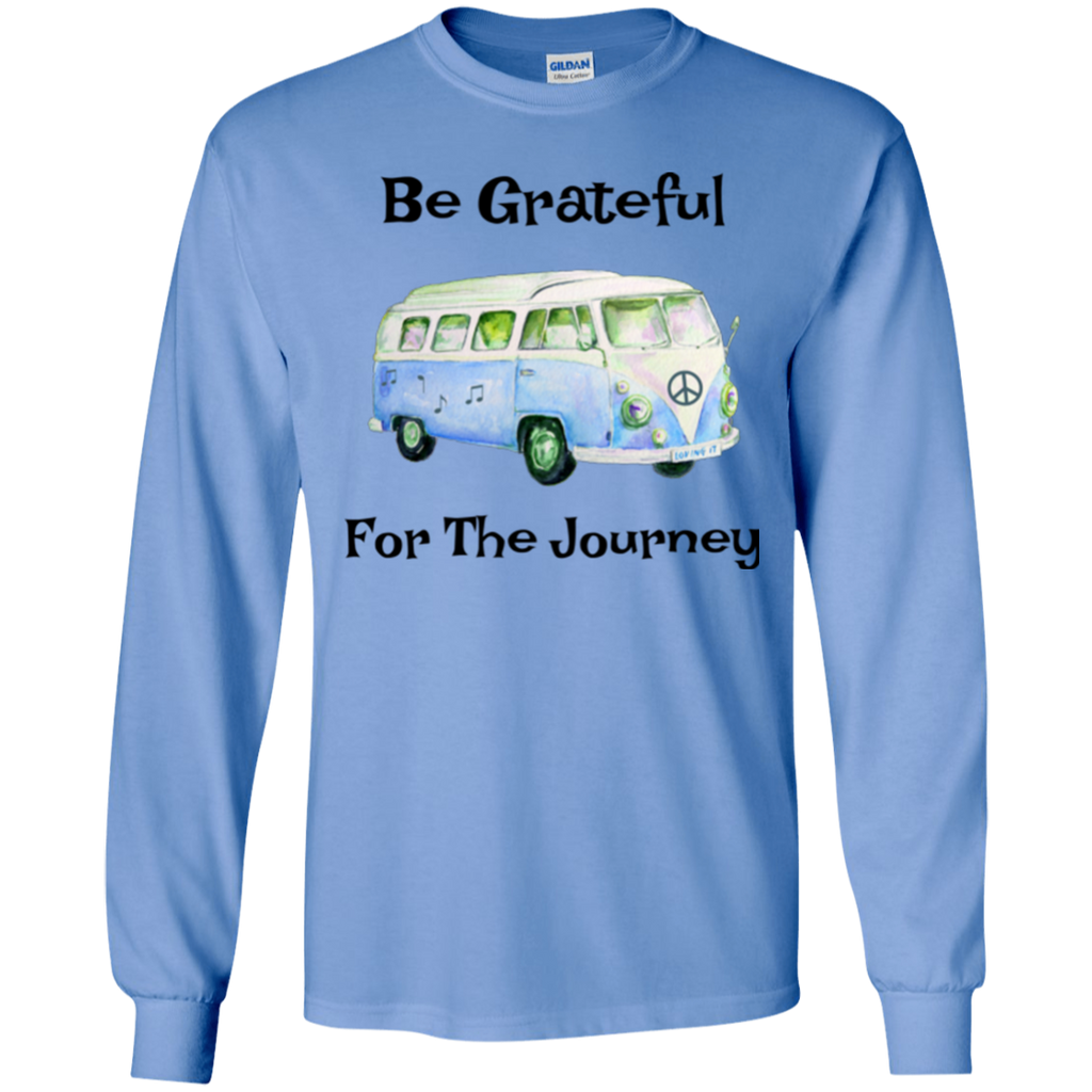 Grateful For Journey Long Sleeve Ultra Cotton T-Shirt