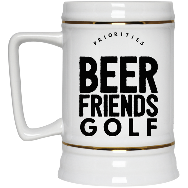 Beer Friends Golf Beer Stein 22oz.