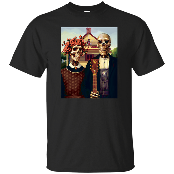 Skeleton Station Ultra Cotton T-Shirt