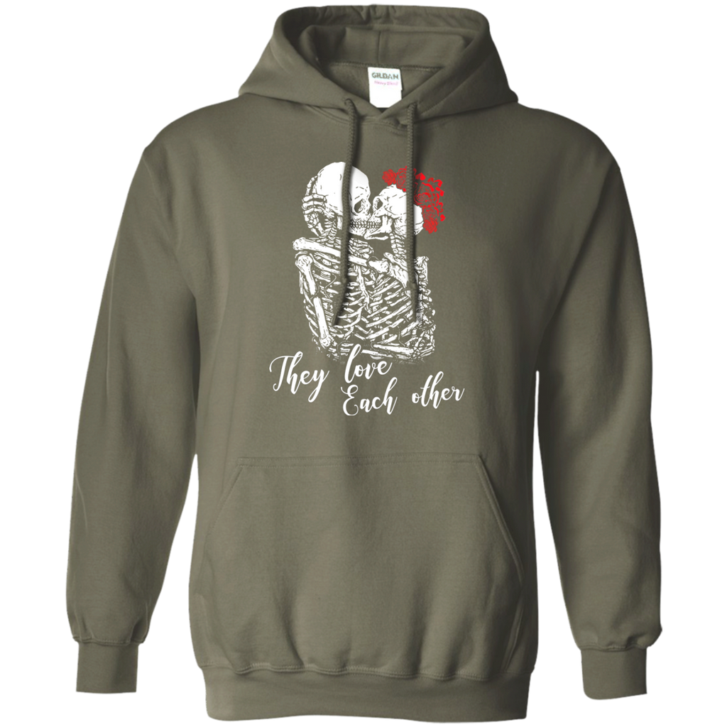 They Love Each Other Pullover Hoodie