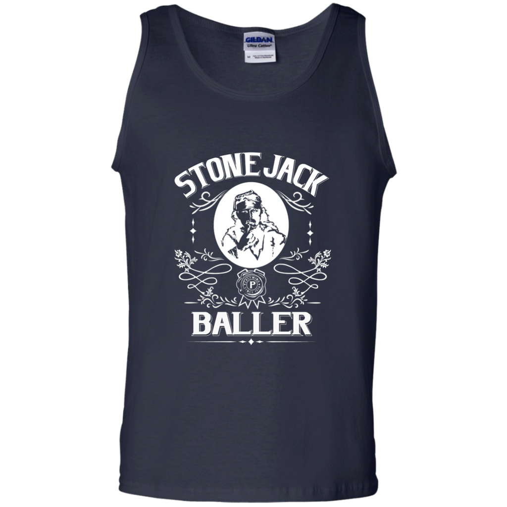 Stone Jack Baller Cotton Tank Top