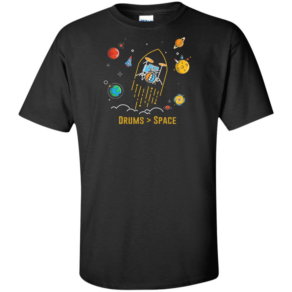 Drums Space Tall Ultra Cotton T-Shirt