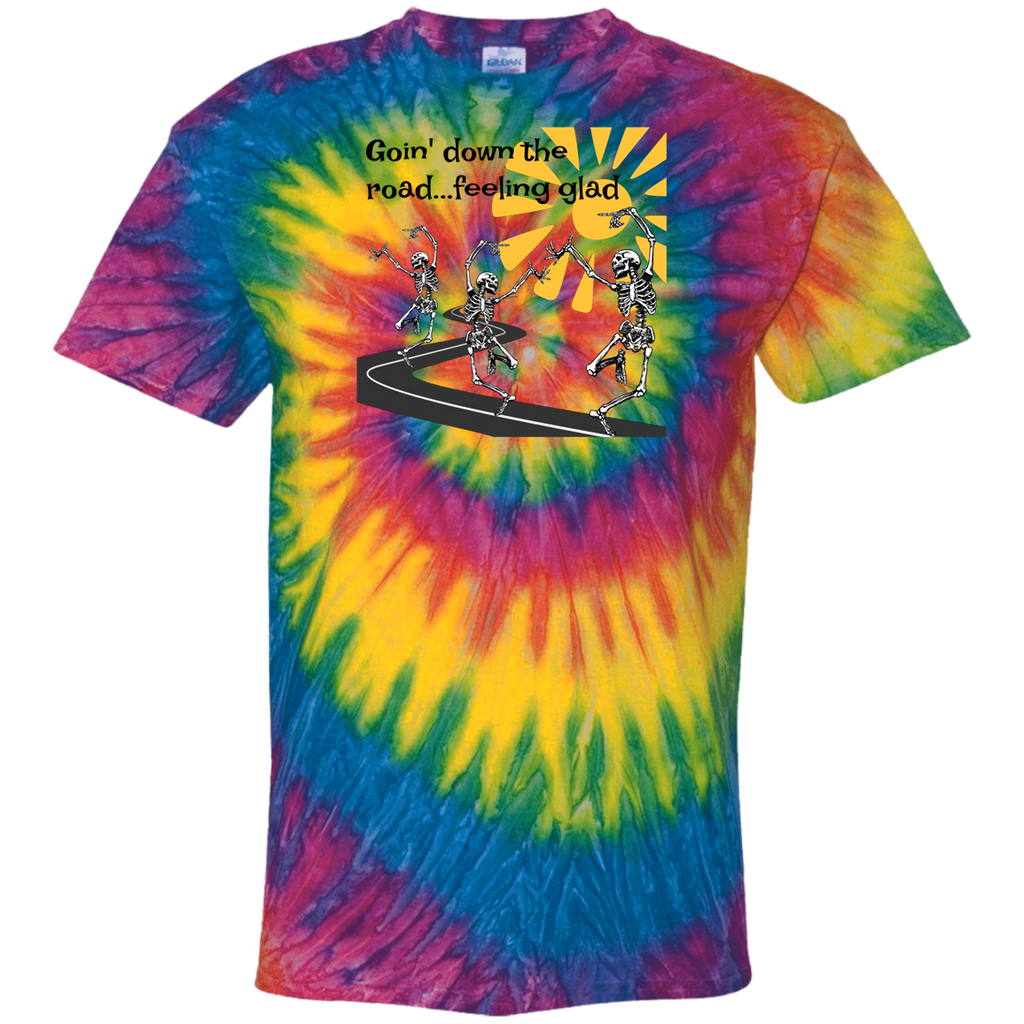 Going Down The Road Tie Dye T-Shirt