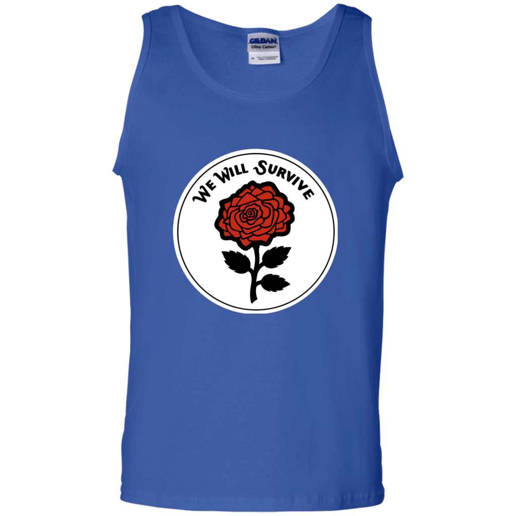 We Will Survive Cotton Tank Top