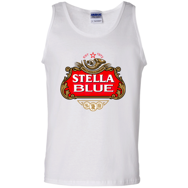 Stella Blue 100% Cotton Tank Top