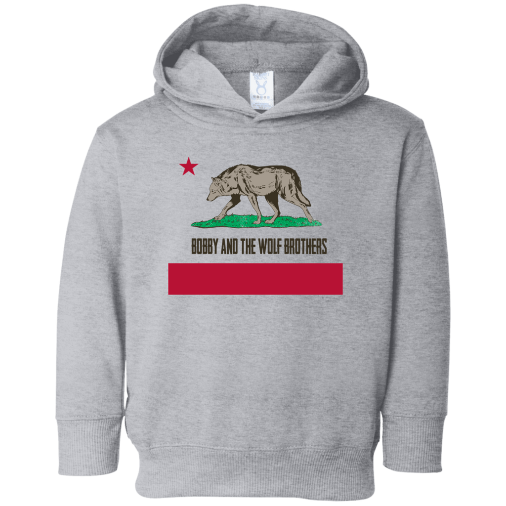 Bobby Wolf Brothers Toddler Fleece Hoodie