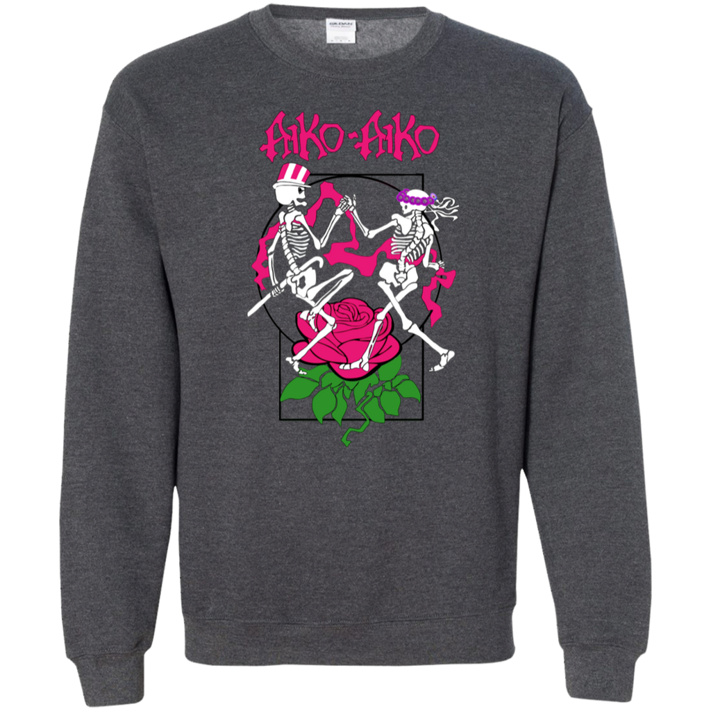 Aiko Skeleton Pullover Sweatshirt  8 oz.