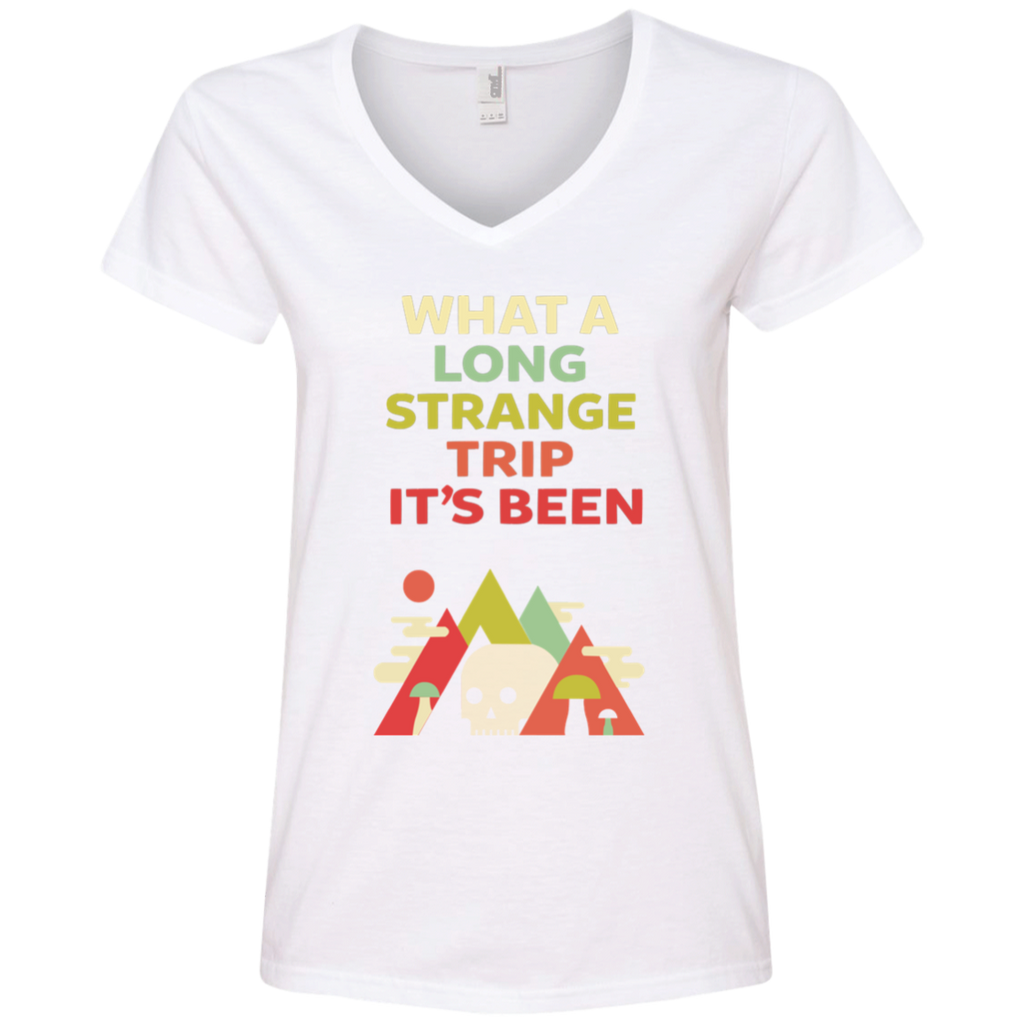 Long Strange Ladies' V-Neck T-Shirt