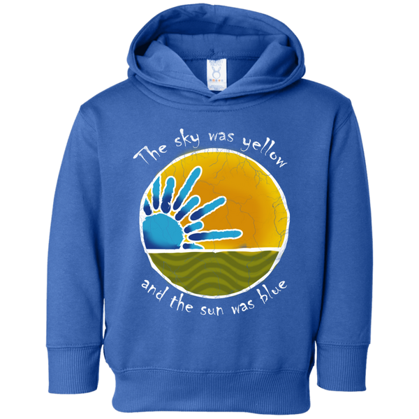 Sky Was Yellow Toddler Fleece Hoodie