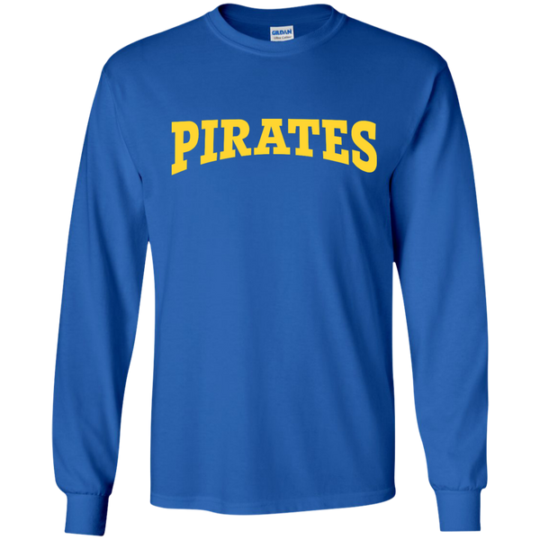 Men's Pirates Long Sleeve Ultra Cotton T-Shirt