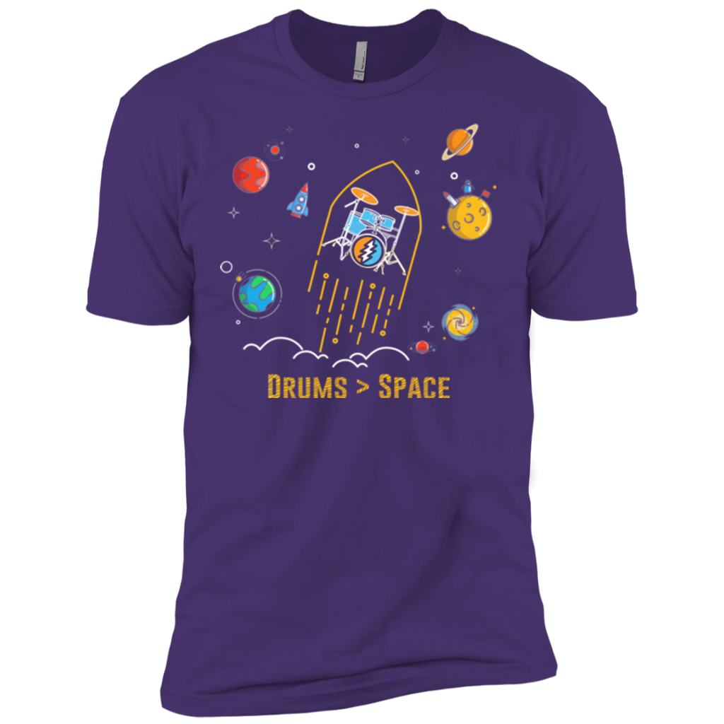 Overstock of Drums Space Premium T-Shirt