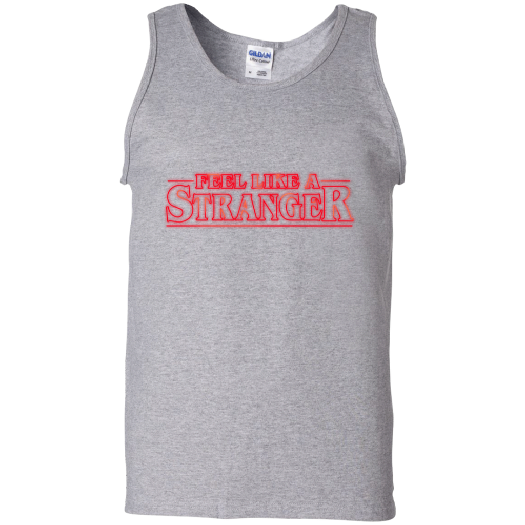 Feel Stranger Things 100% Cotton Tank Top