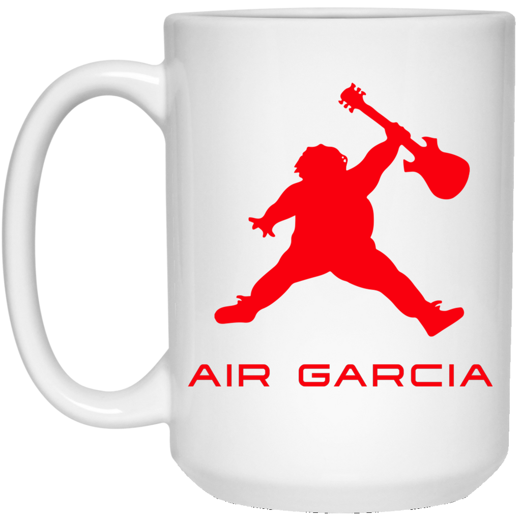Air Garcia 15 oz. White Mug