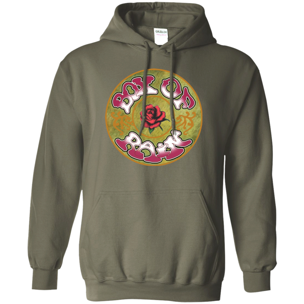 Box Rose Beauty Pullover Hoodie
