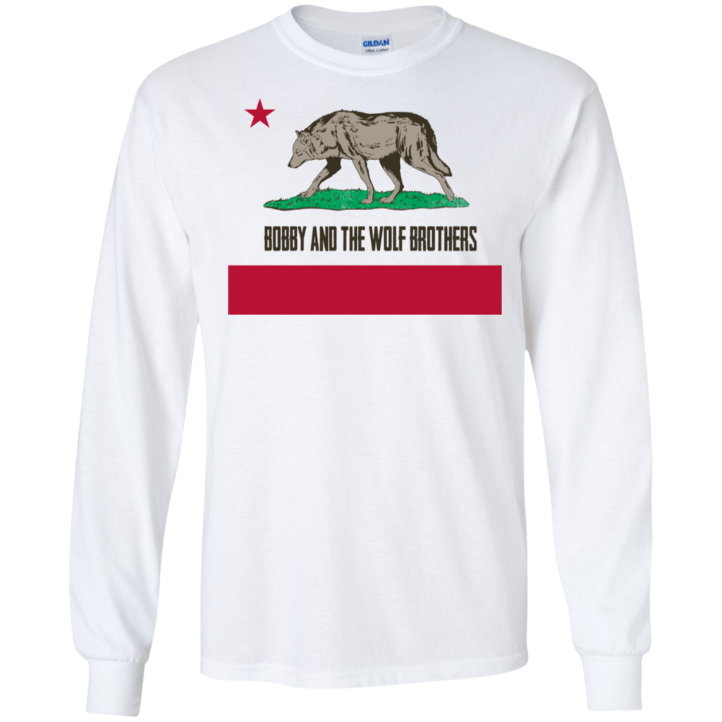 Bobby Wolf Brothers Long Sleeve Ultra Cotton T-Shirt