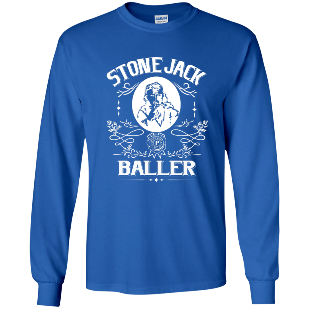 Stone Jack Baller LS Ultra Cotton T-Shirt