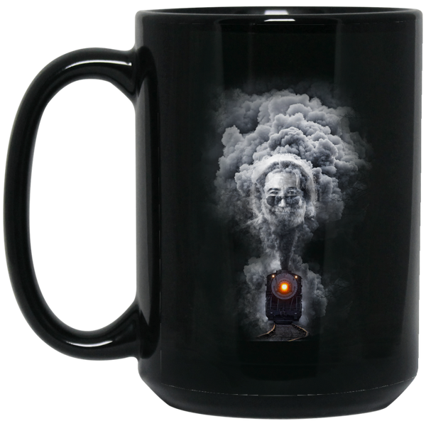 Jerry North Bound Train 15 oz. Black Mug
