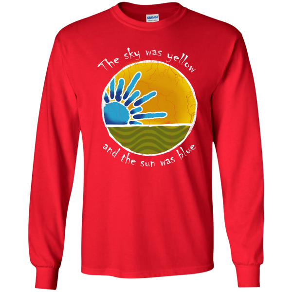 Overstock of Sky Was Yellow Long Sleeve Ultra Cotton T-Shirt