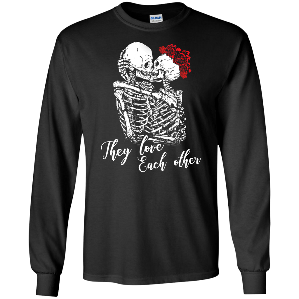 They Love Long Sleeve Ultra Cotton T-Shirt