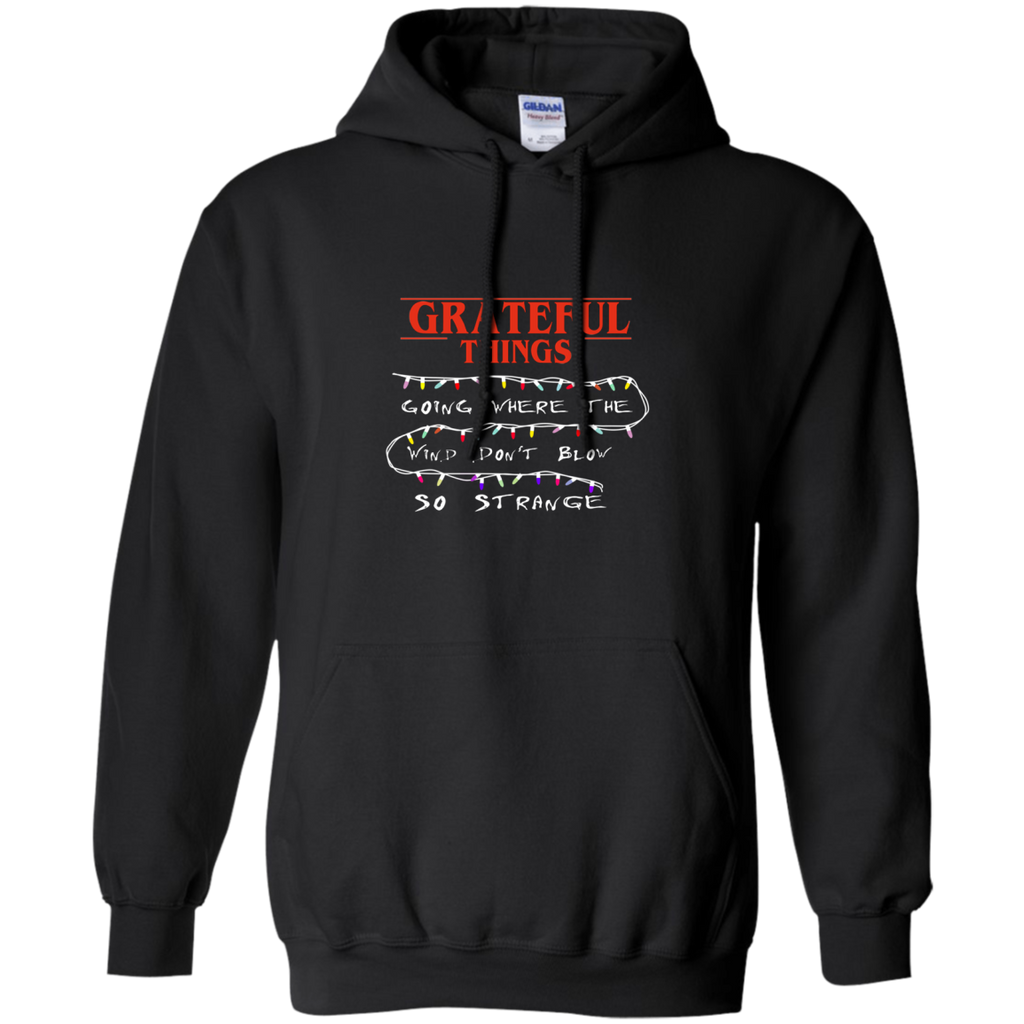 Grateful Things Pullover Hoodie