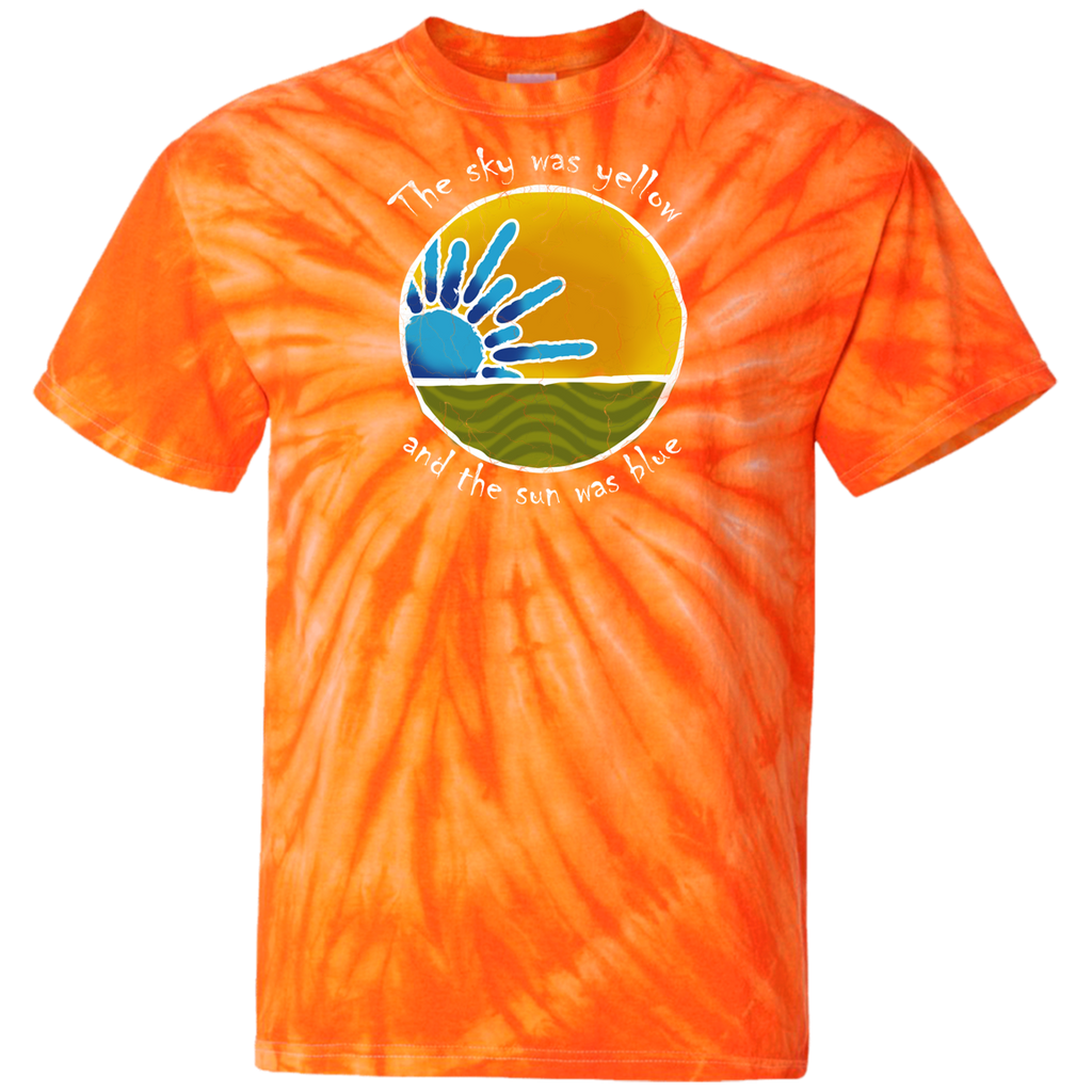 Sky Yellow Tie Dye T-Shirt