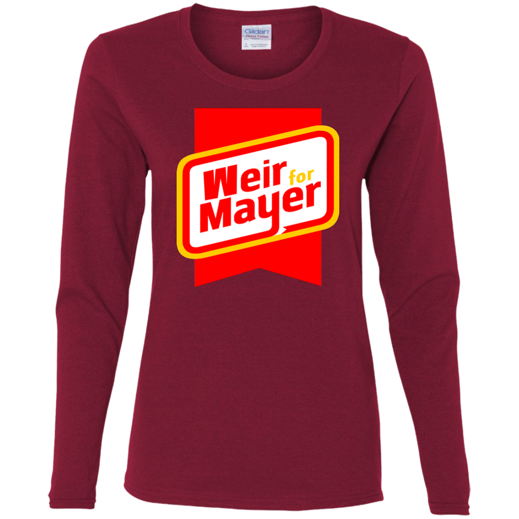 Weir For Mayer Ladies' Cotton Long Sleeve T-Shirt