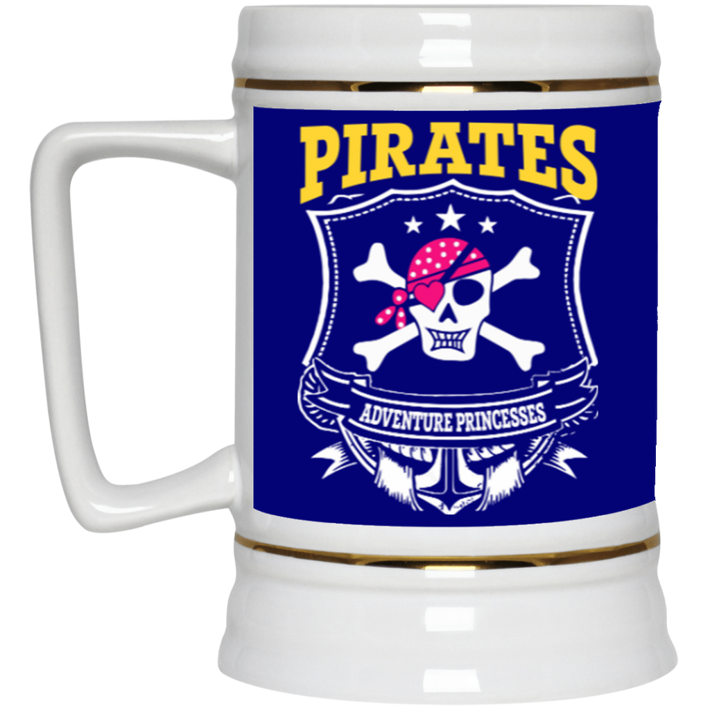 Pirates Beer Stein - 22 oz