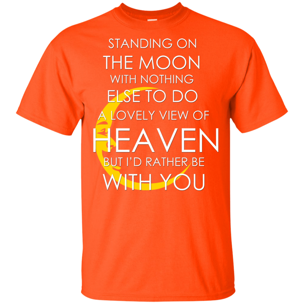 Standing Moon Youth Ultra Cotton T-Shirt