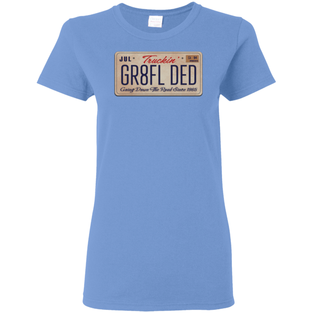 GR8FL DED Ladies T-Shirt