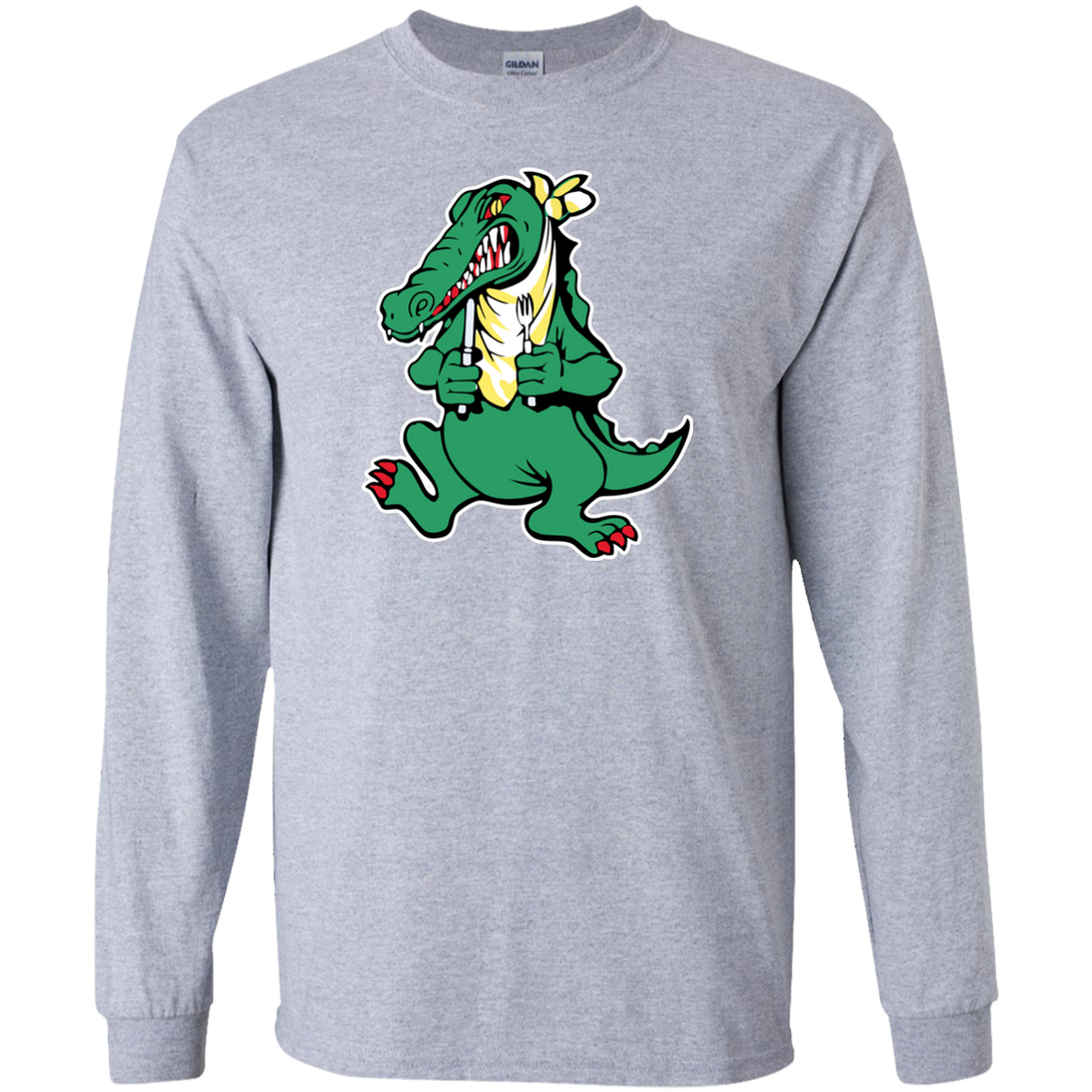 Alligator Guitar Long Sleeve Ultra Cotton T-Shirt